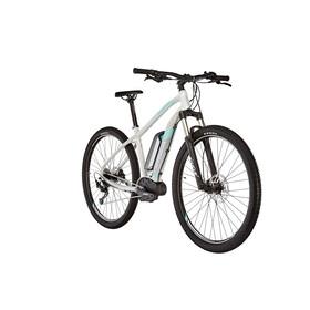 """ORBEA Keram 15 29"""" Elcykel MTB Hardtail grå/vit"""